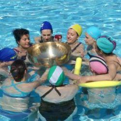 YOGA TANTRICO e campane tibetane in piscina - 2019